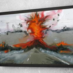 """Daniele Girardi, I Road, 2010, videopittura su mediaplayer, cm 36,5x21,5x1'30"""""""