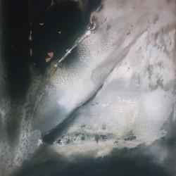 Sera della luce 2004, tempera acrilica su tela, 200 x 180 cm