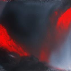 Dalla serie l'immagine accolta, 2006, olio su tela, 59 x 69 cm