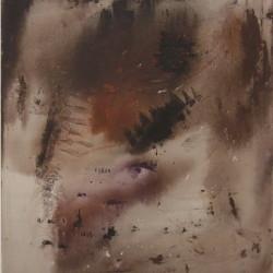 S.T., 1958, olio su tela, 120 x 100 cm