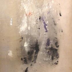 S.T., 1958, tempera su tela, 120 x 80 cm