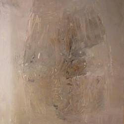 Dalla serie Gesto e materia, 1961, olio su tela, 200 x 150 cm