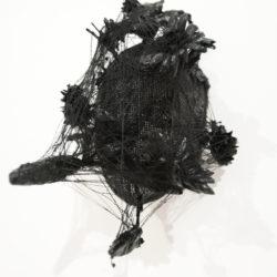 Andrea Bianconi, Face 7, 2017, tecnica mista su maschera