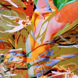Angelo caduto, 2007, olio su tela digitale, cm 170 x 115