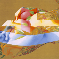 Dama romana, 2007, olio su tela digitale, cm 90 x 125
