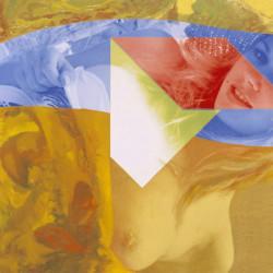 Paesaggio nudo, 2007, olio su tela digitale, cm 45 x 45
