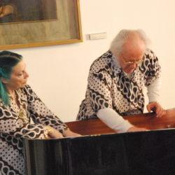 Live Performance per Fluxus Jubileum, Philip Corner e Phoebe Neville,