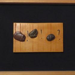 Jean Dupuy, x+x=x(?), 1990, tecnica mista su tavola