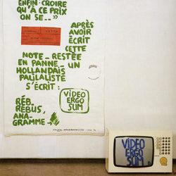Jean Dupuy, Video Ergo Sum, 1988