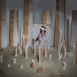 Copia di Luisa Raffaelli,Utopie Periferiche , La città Bosco, 2015, installazione