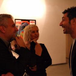 Gabriele Perretta, Cristina Morato e Francesco Totaro