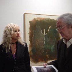 Vasco Bendini e Cristina Morato