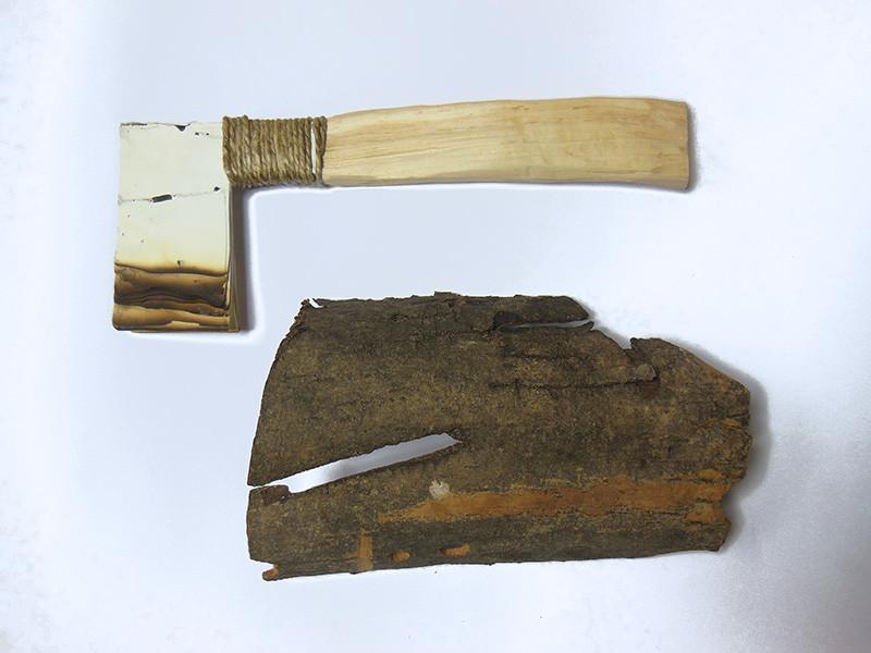 The Great Valley Project, 2014, oggetti: legno corda carta,  45 x 36 x 14 cm