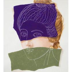 Clara Brasca, Alcesti, 2018, Tecnica mista su carta
