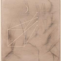 Ernesto Jannini, Cantico n. 1, 2018, acrilico su tavola