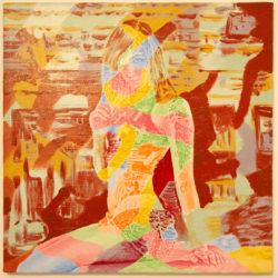 Adriano Nardi, Trancesuicide, 2015, olio su tela