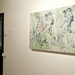 mostra   Beyond the Painting  Gianluca Capozzi Arianna Matta   La Giarina