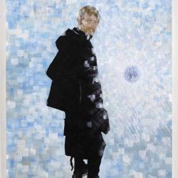 Crossings 6, 2019, acrilico su tela, 150 x 100 cm