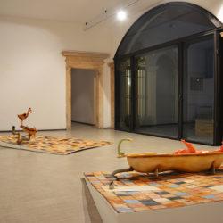 Silvano Tessarollo, Prima che il gallo canti, 2020, veduta dell'installazione (terza sala), La Giarina Arte Contemporanea
