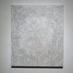 Andrea Bianconi, Tunnel City, 2017, inchiostro su tela, 60x70 cm