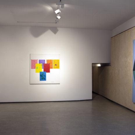 Veduta della sala di Aldo Mondino - Courtesy La Giarina Arte Contemporanea