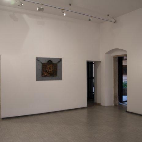 Veduta della sala di Claudio Costa - Courtesy La Giarina Arte Contemporanea